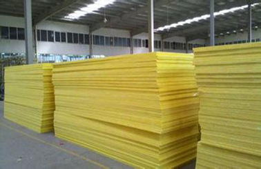 Trung Quốc 50mm Flame Resistant Glass Wool Pipe Insulation For External Walls nhà phân phối