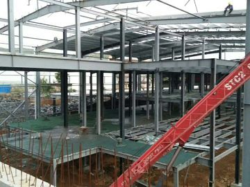 Trung Quốc Multi - Floor Building Steel Frame Fabrication With Aluminum Alloy Window\ nhà phân phối